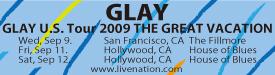 Glay_USTour09_Banner